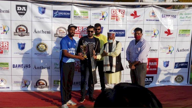 जी टी स्पोर्टस पांवटा फर्स्ट सिरमौर सुपर लीग की चैंपियन