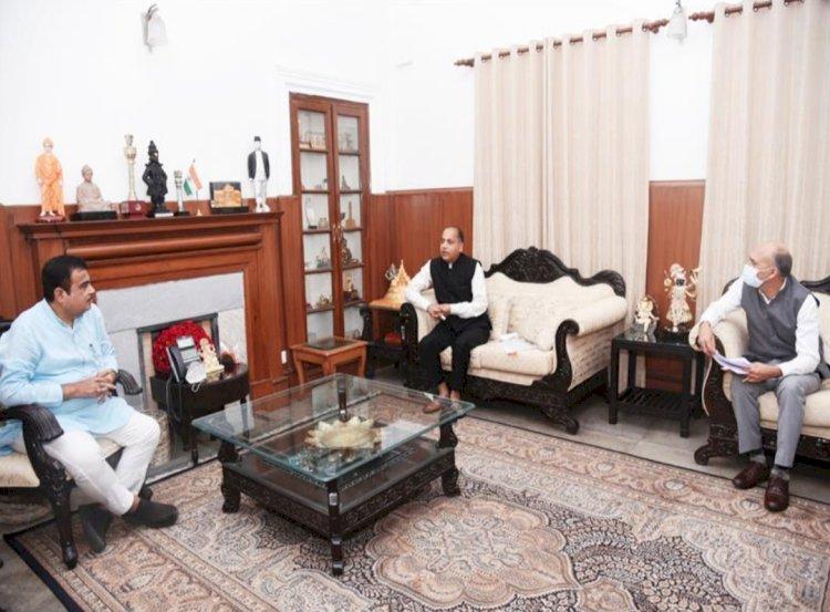 प्रदेश के लिए 193 करोड़ रुपये की परियोजनाएं स्वीकृत करने के लिए केन्द्रीय मंत्री का जताया आभार- ddnewsportal.com