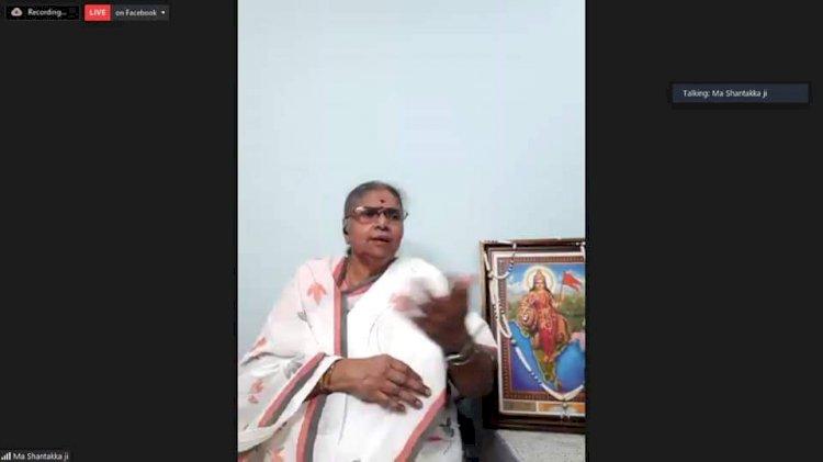 भारतीय नारी में हैं सृजन और संरक्षण की अपार शक्ति- शान्तक्का- ddnewsportal.com