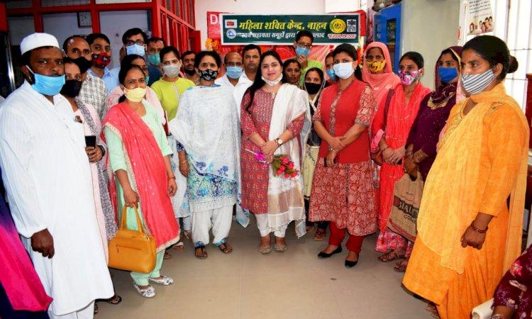 सिरमौर में महिला शक्ति के लिए बना केंद्र ddnewsportal.com